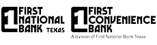 First National Bank Texas & First Conven